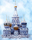 «St. Basil's Cathedral» от Dimples Designs
