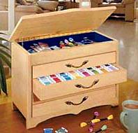 DMC Bobbin Cabinet